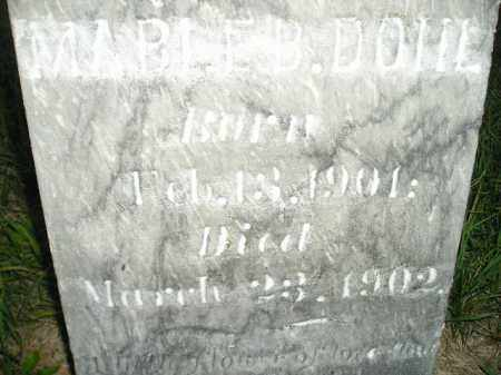 DOHL, MABEL B. 1902 - Codington County, South Dakota | MABEL B. 1902 DOHL - South Dakota Gravestone Photos
