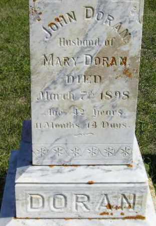 DORAN, JOHN - Codington County, South Dakota | JOHN DORAN - South Dakota Gravestone Photos