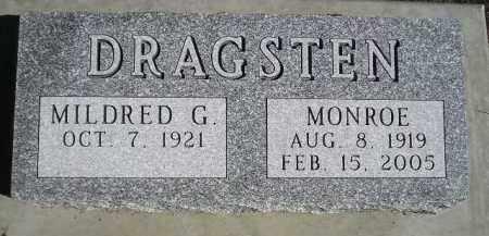 DRAGSTEN, MILDRED G. - Codington County, South Dakota | MILDRED G. DRAGSTEN - South Dakota Gravestone Photos