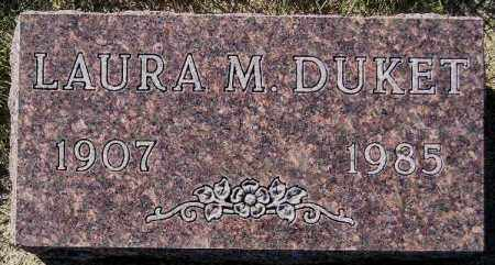 DUKET, LAURA M. - Codington County, South Dakota   LAURA M. DUKET - South Dakota Gravestone Photos