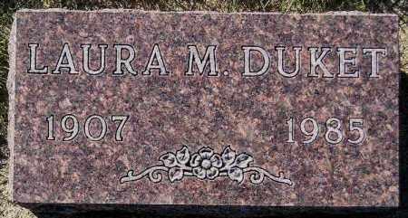 DUKET, LAURA M. - Codington County, South Dakota | LAURA M. DUKET - South Dakota Gravestone Photos