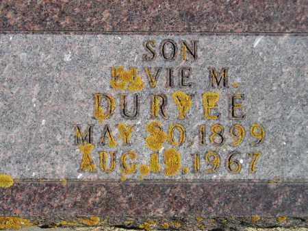 DURYEE, ELVIE MILTON - Codington County, South Dakota   ELVIE MILTON DURYEE - South Dakota Gravestone Photos