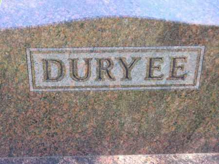 DURYEE, FAMILY STONE - Codington County, South Dakota | FAMILY STONE DURYEE - South Dakota Gravestone Photos