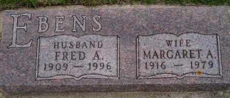 EBENS, FRED A. - Codington County, South Dakota | FRED A. EBENS - South Dakota Gravestone Photos