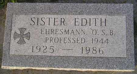 EHRESMANN, EVE - Codington County, South Dakota | EVE EHRESMANN - South Dakota Gravestone Photos