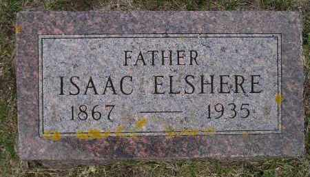 ELSHERE, ISAAC - Codington County, South Dakota | ISAAC ELSHERE - South Dakota Gravestone Photos