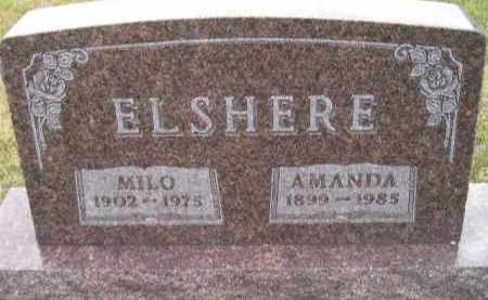 ELSHERE, MILO ADELBERT - Codington County, South Dakota | MILO ADELBERT ELSHERE - South Dakota Gravestone Photos