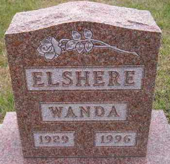 HANSON ELSHERE, WANDA LAVERNE - Codington County, South Dakota | WANDA LAVERNE HANSON ELSHERE - South Dakota Gravestone Photos