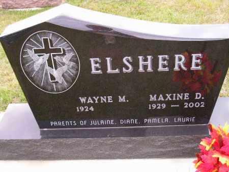 ELSHERE, WAYNE M. - Codington County, South Dakota | WAYNE M. ELSHERE - South Dakota Gravestone Photos