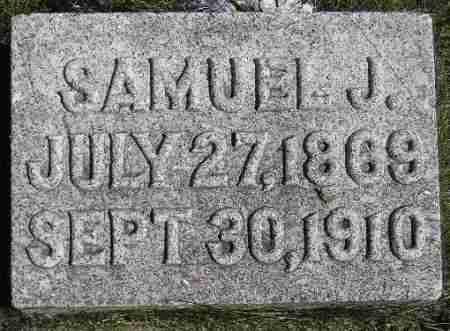 ELWOOD, SAMUEL JACOB - Codington County, South Dakota | SAMUEL JACOB ELWOOD - South Dakota Gravestone Photos
