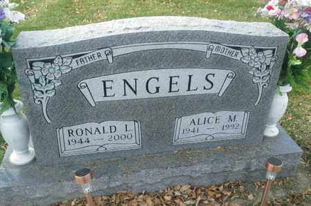 ENGELS, ALICE M - Codington County, South Dakota   ALICE M ENGELS - South Dakota Gravestone Photos