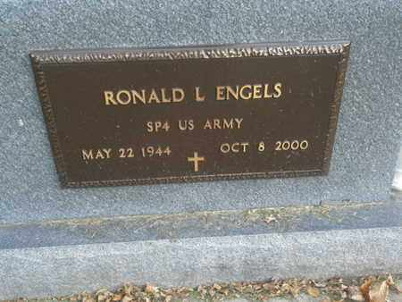 "ENGELS, RONALD L ""MILITARY"" - Codington County, South Dakota   RONALD L ""MILITARY"" ENGELS - South Dakota Gravestone Photos"