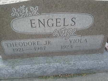 ENGELS, THEODORE JR - Codington County, South Dakota | THEODORE JR ENGELS - South Dakota Gravestone Photos