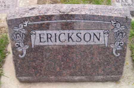 ERICKSON, FAMILY STONE - Codington County, South Dakota   FAMILY STONE ERICKSON - South Dakota Gravestone Photos