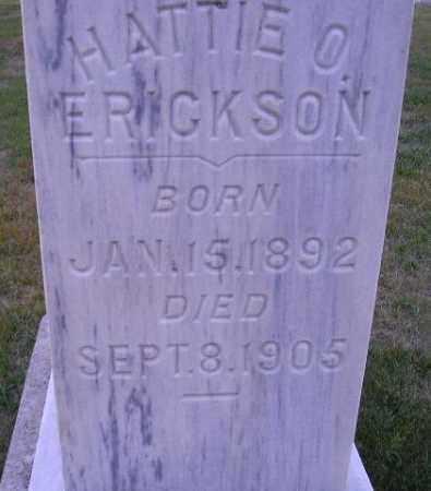 ERICKSON, HATTIE O. - Codington County, South Dakota | HATTIE O. ERICKSON - South Dakota Gravestone Photos