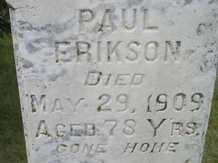 ERIKSON, PAUL - Codington County, South Dakota | PAUL ERIKSON - South Dakota Gravestone Photos