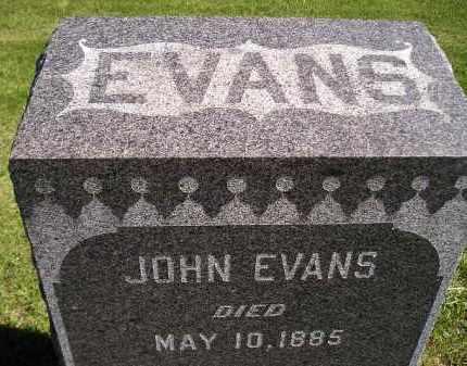 EVANS, JOHN - Codington County, South Dakota | JOHN EVANS - South Dakota Gravestone Photos