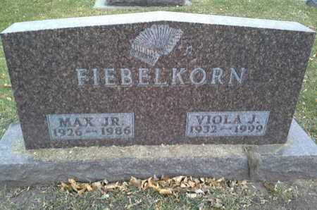 FIEBELKORN, MAX JR - Codington County, South Dakota | MAX JR FIEBELKORN - South Dakota Gravestone Photos