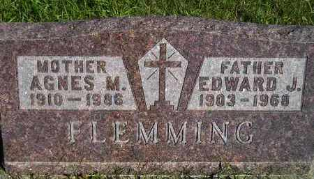 FLEMMING, AGNES MARY - Codington County, South Dakota | AGNES MARY FLEMMING - South Dakota Gravestone Photos
