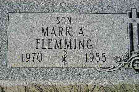 FLEMMING, MARK A. - Codington County, South Dakota | MARK A. FLEMMING - South Dakota Gravestone Photos