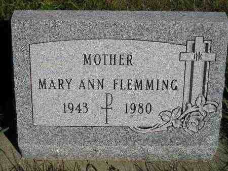 PERRY FLEMMING, MARY ANN - Codington County, South Dakota | MARY ANN PERRY FLEMMING - South Dakota Gravestone Photos