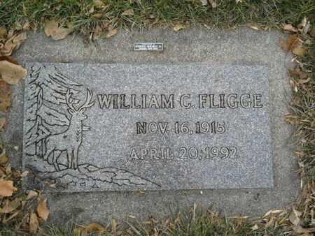FLIGGE, WILLIAM C - Codington County, South Dakota   WILLIAM C FLIGGE - South Dakota Gravestone Photos