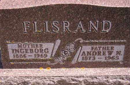 FLISRAND, ANDREW NELS - Codington County, South Dakota | ANDREW NELS FLISRAND - South Dakota Gravestone Photos