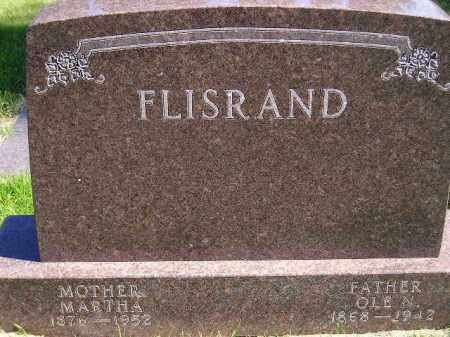 MARKVE FLISRAND, MARTHA K. - Codington County, South Dakota   MARTHA K. MARKVE FLISRAND - South Dakota Gravestone Photos