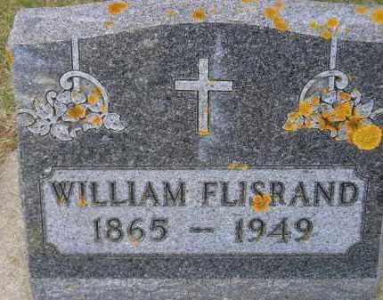 FLISRAND, WILLIAM - Codington County, South Dakota | WILLIAM FLISRAND - South Dakota Gravestone Photos