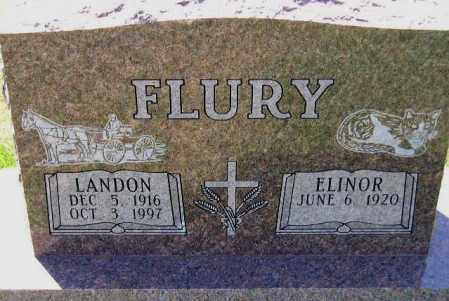 FLURY, ELINOR - Codington County, South Dakota | ELINOR FLURY - South Dakota Gravestone Photos