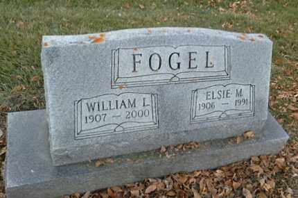 FOGEL, WILLIAM L - Codington County, South Dakota | WILLIAM L FOGEL - South Dakota Gravestone Photos