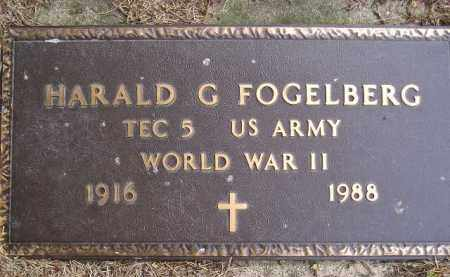 FOGELBERG, HARALD G. (WW II) - Codington County, South Dakota | HARALD G. (WW II) FOGELBERG - South Dakota Gravestone Photos