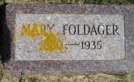 DAHLY FOLDAGER, MARY - Codington County, South Dakota | MARY DAHLY FOLDAGER - South Dakota Gravestone Photos