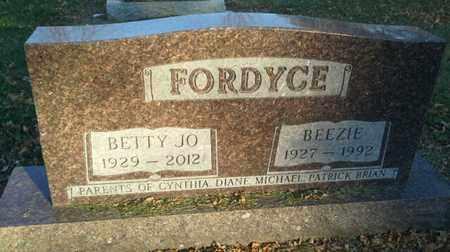 FORDYCE, BEEZIE - Codington County, South Dakota | BEEZIE FORDYCE - South Dakota Gravestone Photos