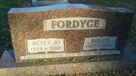 FORDYCE, BETTY JO - Codington County, South Dakota | BETTY JO FORDYCE - South Dakota Gravestone Photos