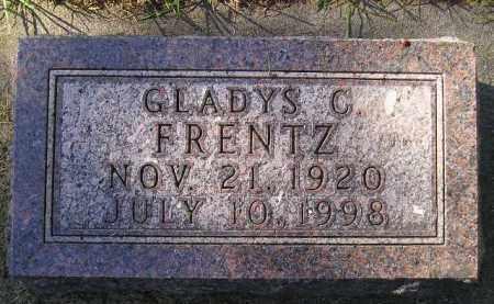 FRENTZ, GLADYS C. - Codington County, South Dakota | GLADYS C. FRENTZ - South Dakota Gravestone Photos