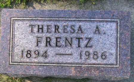 FRENTZ, THERESA A. - Codington County, South Dakota | THERESA A. FRENTZ - South Dakota Gravestone Photos