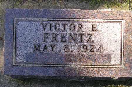 FRENTZ, VICTOR E. - Codington County, South Dakota | VICTOR E. FRENTZ - South Dakota Gravestone Photos