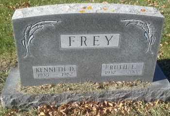 FREY, KENNETH D - Codington County, South Dakota   KENNETH D FREY - South Dakota Gravestone Photos