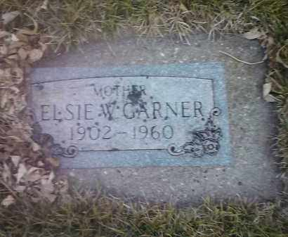 GARNER, ELSIE W - Codington County, South Dakota | ELSIE W GARNER - South Dakota Gravestone Photos