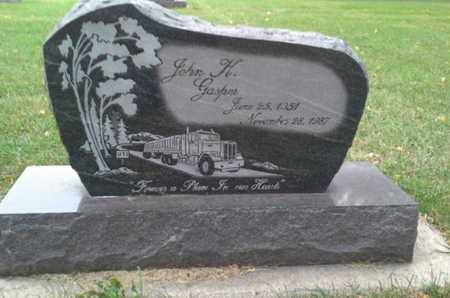 GASPER, JOHN H - Codington County, South Dakota   JOHN H GASPER - South Dakota Gravestone Photos