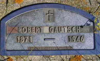 GAUTSCH, ROBERT - Codington County, South Dakota   ROBERT GAUTSCH - South Dakota Gravestone Photos