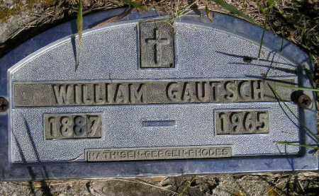 GAUTSCH, WILLIAM - Codington County, South Dakota | WILLIAM GAUTSCH - South Dakota Gravestone Photos