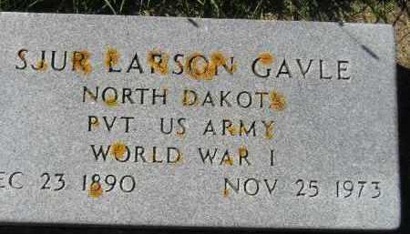 GAVLE, SJUR LARSON - Codington County, South Dakota | SJUR LARSON GAVLE - South Dakota Gravestone Photos