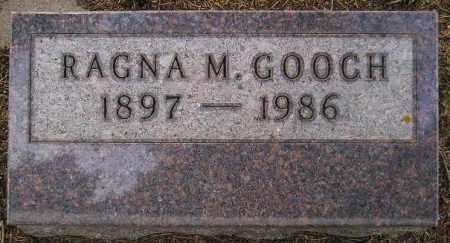 MOE GOOCH, RAGNA MAE - Codington County, South Dakota   RAGNA MAE MOE GOOCH - South Dakota Gravestone Photos