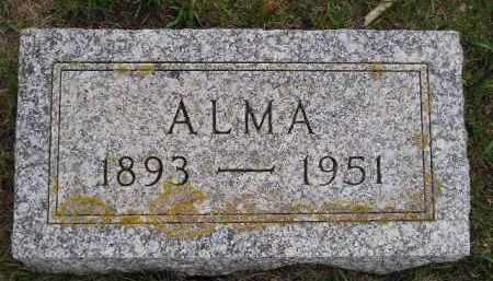 ZIRBEL GREWING, ALMA HERTHA ANNA - Codington County, South Dakota | ALMA HERTHA ANNA ZIRBEL GREWING - South Dakota Gravestone Photos