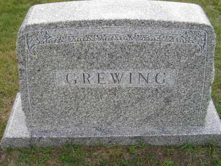 GREWING, FAMILY STONE - Codington County, South Dakota   FAMILY STONE GREWING - South Dakota Gravestone Photos