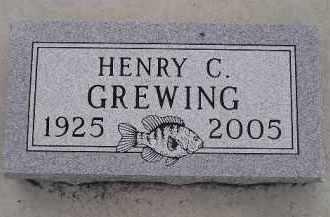 GREWING, HENRY C. - Codington County, South Dakota   HENRY C. GREWING - South Dakota Gravestone Photos
