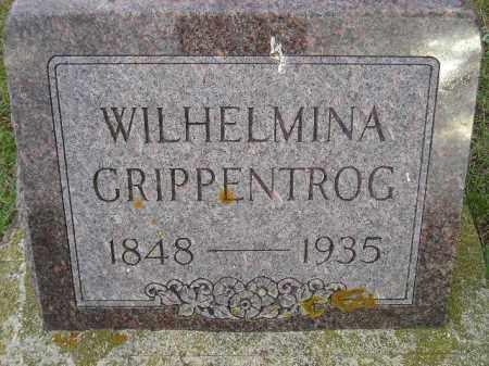 BLOCK GRIPPENTROG, WILHELMINA JOHANNA - Codington County, South Dakota | WILHELMINA JOHANNA BLOCK GRIPPENTROG - South Dakota Gravestone Photos