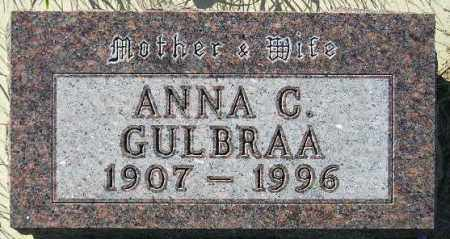 WINGE GULBRAA, ANNA CHRISTINA - Codington County, South Dakota | ANNA CHRISTINA WINGE GULBRAA - South Dakota Gravestone Photos
